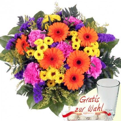 Blumenstrauß Big Summer – Blumen online verschicken mit dem Blumenfee Blumenversand