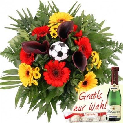 Blumenstrauß Deutschland-EM-Blumen online– Blumen online verschicken mit dem Blumenfee Blumenversand