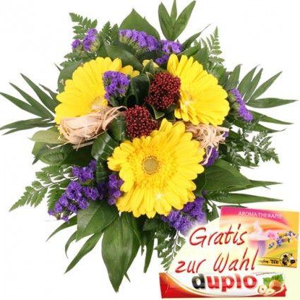 Gerbera in Gelb - Blumenfee Spezial Blumenstrauss - online verschicken