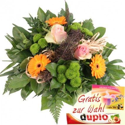 Blumenstrauß mit Rosen und Gerbera günstig online versenden