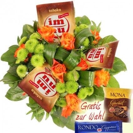 Blumen und imnu Kaffee online versenden mit Blumenfee