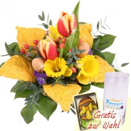 Osterblumen online verschicken - schnell und zuverlässig mit Blumenfee