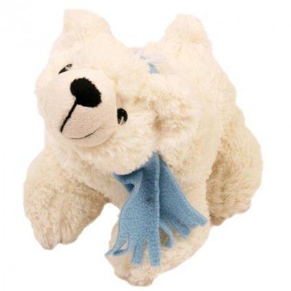 Plüsch Eisbär zusammen mit Ihrem Blumenstrauß online verschicken.