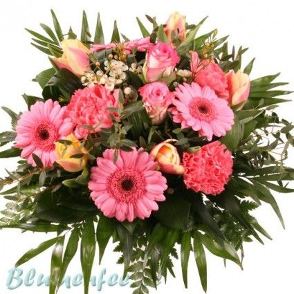 Blumenstrauß Traum in Rosa mit Gratiszugabe Ihrer Wahl – Blumen online deutschlandweit versenden  mit www.blumenfee.de - dem Blumenversand