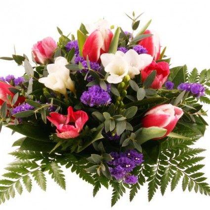 Blumenstrauß Frühlingsbotschaft mit Gratiszugabe Ihrer Wahl – Blumen online deutschlandweit versenden  mit www.blumenfee.de - dem Blumenversand