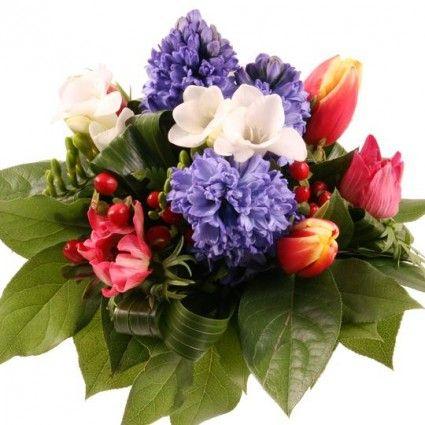 Blumenstrauß Kleines Frühlingslied mit Gratiszugabe Ihrer Wahl – Blumen online deutschlandweit versenden  mit www.blumenfee.de - dem Blumenversand