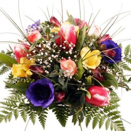 Blumenstrauß Frühlingserwachen mit Gratiszugabe Ihrer Wahl – Blumen online deutschlandweit versenden  mit www.blumenfee.de - dem Blumenversand