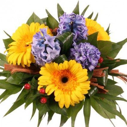 Blumenstrauß Frühlingsgedanken mit Gratiszugabe Ihrer Wahl – Blumen online deutschlandweit versenden  mit www.blumenfee.de - dem Blumenversand