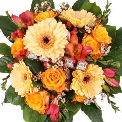Blumenstrauß Sweet Kiss mit Gratiszugabe Ihrer Wahl – Blumen online deutschlandweit versenden  mit www.blumenfee.de - dem Blumenversand