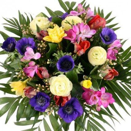 Frühlingsblumen Springtime Premium - Frühlingsblumen online deutschlandweit versenden  mit www.blumenfee.de - dem Blumenversand