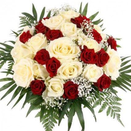 Rosen-Traum Premium mit 3 Gratiszugaben Ihrer Wahl – Blumen online versenden auf www.blumenfee.de