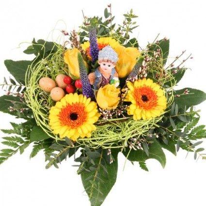 Blumenstrauß Osterspaziergang - Blumen online deutschlandweit versenden  mit www.blumenfee.de - dem Blumenversand