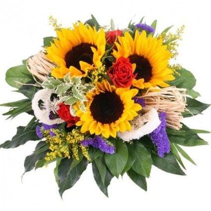 Blumenstrauß Summer Feelings Premium mit 3 Gratiszugaben Ihrer Wahl – Blumen online verschicken auf www.blumenfee.de