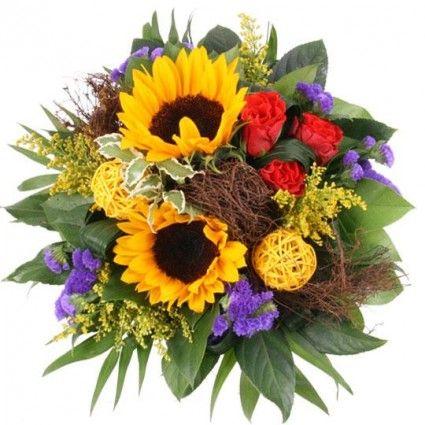 Blumenstrauß Special Summertime plus mit  Gratiszugabe hrer Wahl – Blumen online verschicken auf www.blumenfee.de