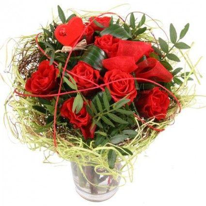 Blumenstrauß Rosenmeer online versenden mit www.blumenfee.de - dem Blumenversand