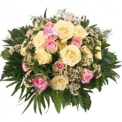 """Blumenstrauß """"Sweet Girl Premium"""" mit 3 Gratiszugaben Ihrer Wahl – Blumen online im Blumenfee Blumenversand verschicken www.blumenfee.de"""