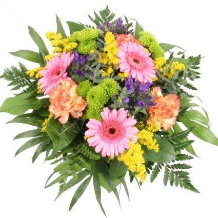Blumenstrauß Sommerwellness mit 3 Gratiszugaben Ihrer Wahl – Blumen online verschicken auf www.blumenfee.de