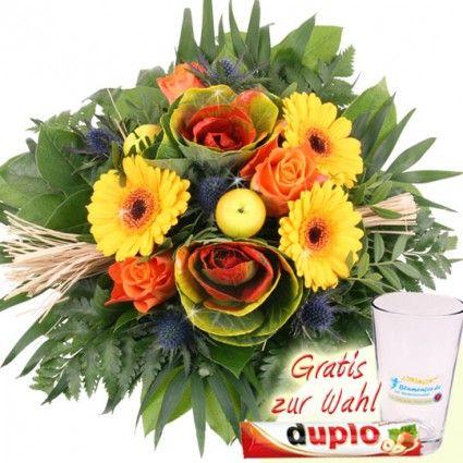 Blumenstrauss Herbst-Farbenspiel mit Zierkohl online verschicken - günstig und frisch mit der Blumenfee