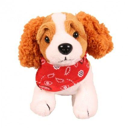 Plüsch Hund Dackel mit Tuch