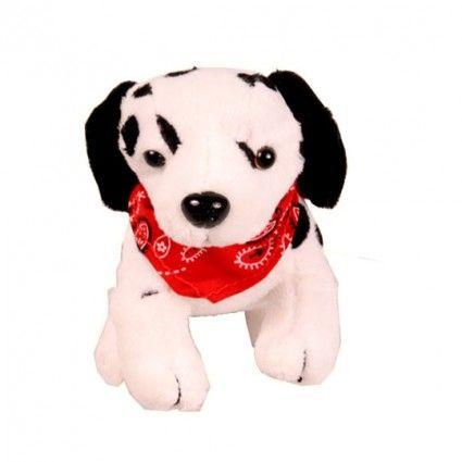 Plüsch Hund Dalmatiner mit Tuch