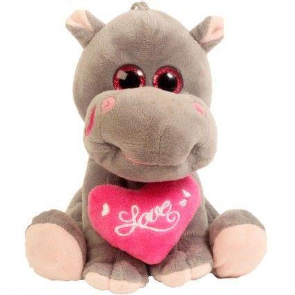 Plüsch Nilpferd Hippo in Love