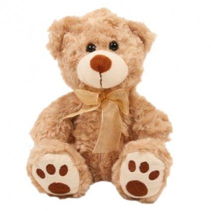 Teddybär Browny mit großen Tatzen zusammen mit Ihrem Blumenstrauß online versenden.