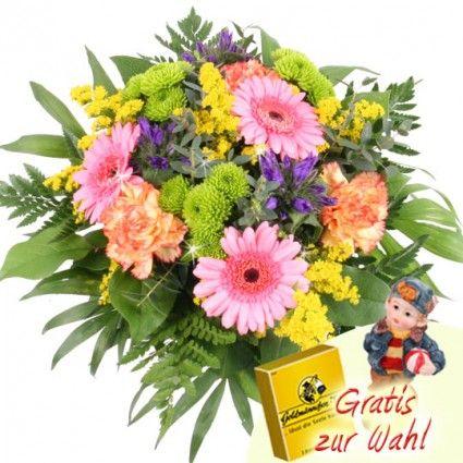 Sommer Strauß Sommer-Wellness plus Zugabe online verschicken mit Blumenfee - Der Blumenversand