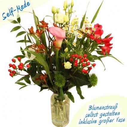 Self Made Blumenstrauß Premium - Bundware kreativ zusammengestellt - Zu Hause persönlich gestalten - Blumenfee - Der Blumenversand