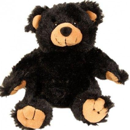 Teddybär in Schwarz, weich und super süß