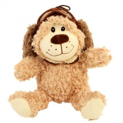 Teddybär mit Fliegermütze