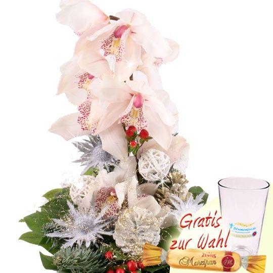 Orchideen Strauß Märchenschloss