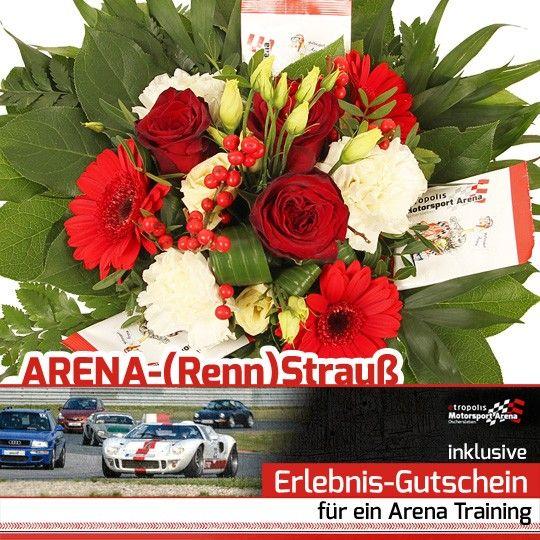 Blumen und Arena Training auf Rechnung bestellen