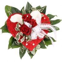 Brautstrauß Liebe - der günstige Brautstrauß