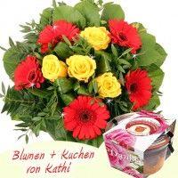Blumen + Kuchen Special Danke