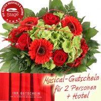 Musical Gutschein mit Hotel 2 Personen