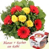 Blumen + Kuchen Special Lieber Gruß