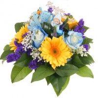 Sweet Boy - Blumen zur Geburt