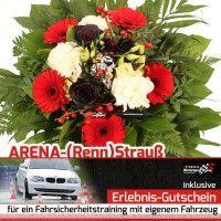 Blumen und Fahrsicherheits-Training