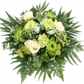 Blumenfee AOK-Special - Logo-Strauß in Grün-Weiß
