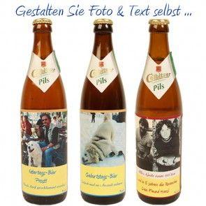 Bier eigenem Etikett selber gestalten und online versenden - Dein eigenes Bier online
