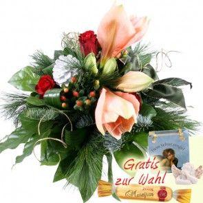 Blumen zum Advent mit Schutzengel online sicher und schnell versenden