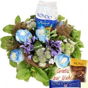 Blumenfee RÖSTfein Special Rondo Melange - Kaffe und Blumen online verschicken auf Blumenfee.de