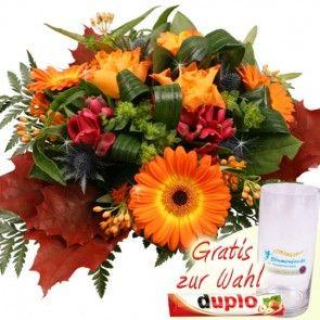 Herbstblumen Strauß Herbstfeuer schnell und günstig online versenden