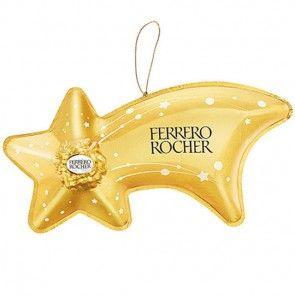 Ferrero Rocher Sternschnuppe zu Weihnachten