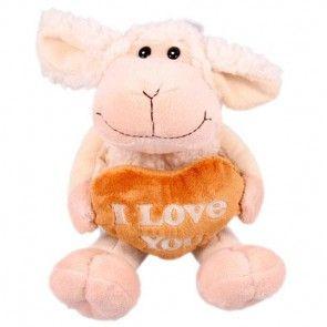 Plüsch-Schaf Emma - die kuschelige Ergänzung zu Ihrem Blumenstrauß - online bestellen bei Blumenfee.de