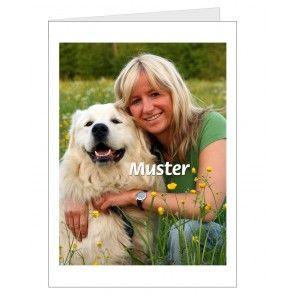 Persönliche Grußkarte - Sie laden Ihr Foto hoch-Blumenfee-der Blumenversand - druckt Ihr Foto auf Ihre Karte