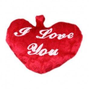 Plüsch-Herz als Ergänzung zu Ihrem Blumenstrauß - online bestellen auf blumenfee.de