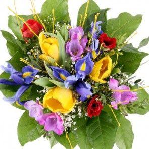 Blumenstrauß Frühlingstanz - Blumen online deutschlandweit versenden  mit www.blumenfee.de - dem Blumenversand