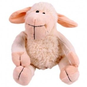 Plüsch-Schaf Lotta - die kuschelige Ergänzung zu Ihrem Blumenstrauß - online bestellen bei Blumenfee.de
