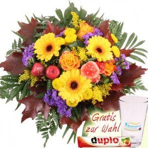Blumenstrauß Herbst-Zauber - Herbstblumen online verschicken mit der Blumenfee